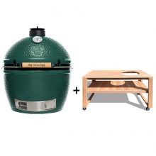 Big-Green-Egg XL met douglas tafel