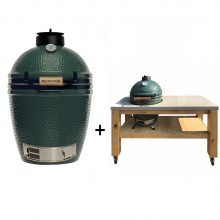 Big-Green-Egg-Medium-met-eikenhouten-tafel-beton-blad