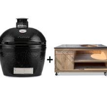 Primo-Oval-Large-met-eiken-tafel-opbergkast-natuursteen-blad TE300