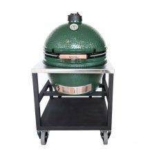 Big Green Egg XL + RVS tafel horeca