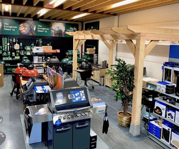 showroom big green egg store cookers and grills