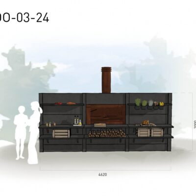Lichtgrijs: €9.770 Antraciet: €10.655. De prijs is inclusief transport, installatie en BTW. Exclusief BBQ en accessoires.